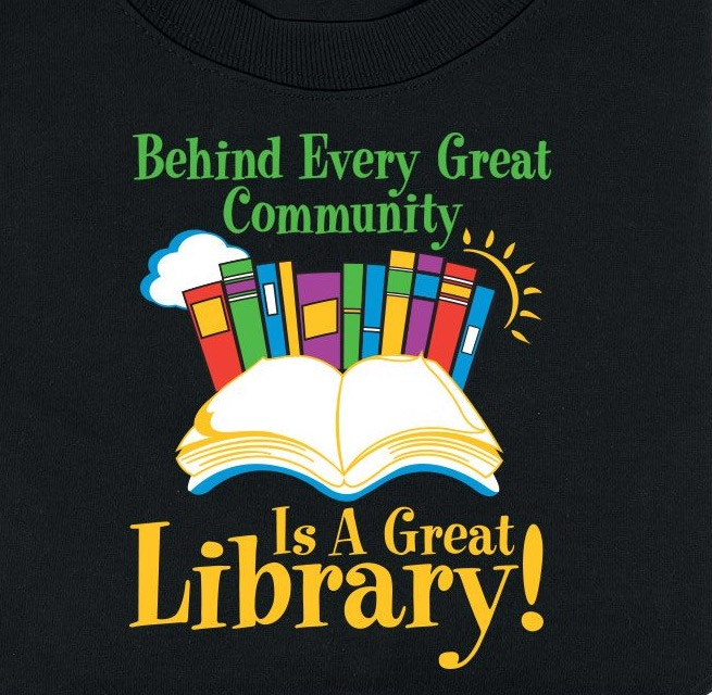 Bennington public library for Librarian t shirt sayings