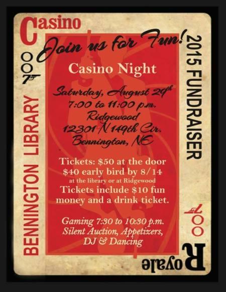 casino invite