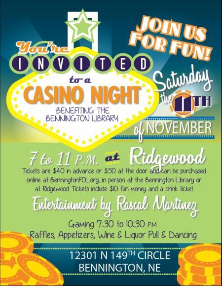 Casino Night Flyer Updated