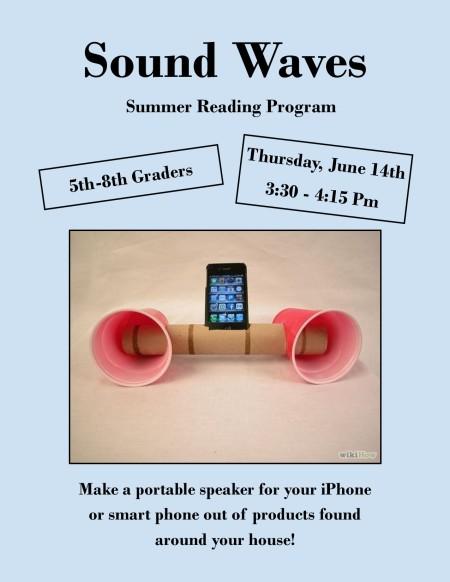 Sound Waves Flyer